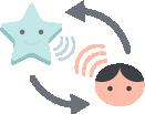 La communication bidirectionnelle permet de communiquer avec l'enfant